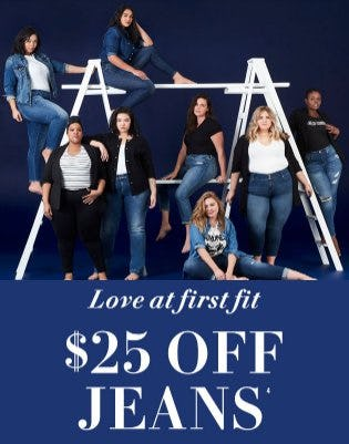 $25 Off Jeans