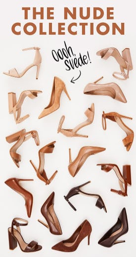 The Nude Collection from DSW Shoes