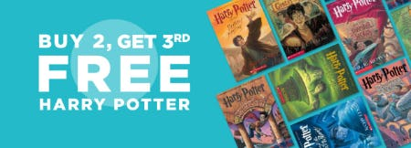 B2G3 Free Harry Potter from Books-A-Million