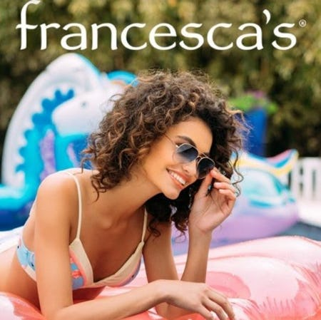 Full Price Sunglasses, 2 for $20 from francesca's