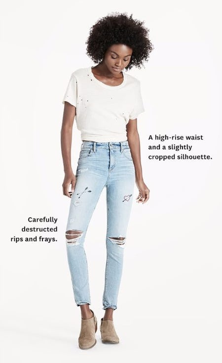 Women's Jeans: Trouble Never Good Looked so Good