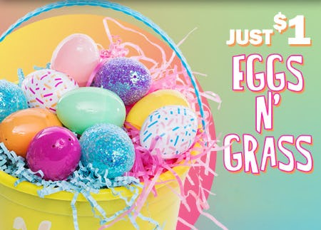 Just $1 Eggs N' Grass from Five Below