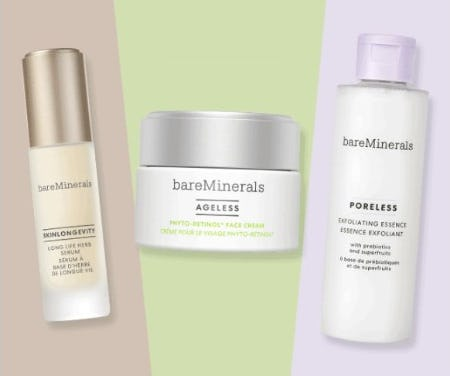 Plant-Powered Must Haves from bareMinerals