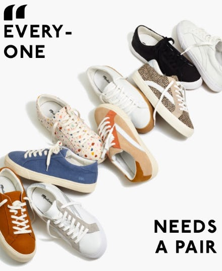 Our Supercomfy Sneakers from Madewell