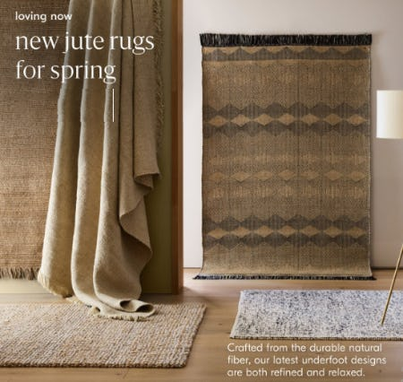 New Jute Rugs for Spring