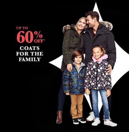 Up to 60% Off Coats from Lord & Taylor