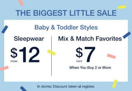 The Biggest Little Sale