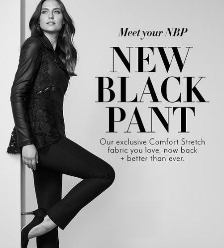 Meet Your NBP: New Black Pant