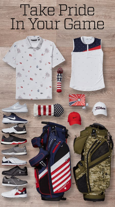 The Americana Collection from Golf Galaxy
