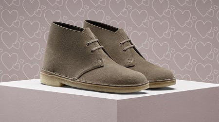 The Iconic Desert Boot from Clarks