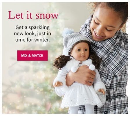 New Mix & Match Possibilities from American Girl