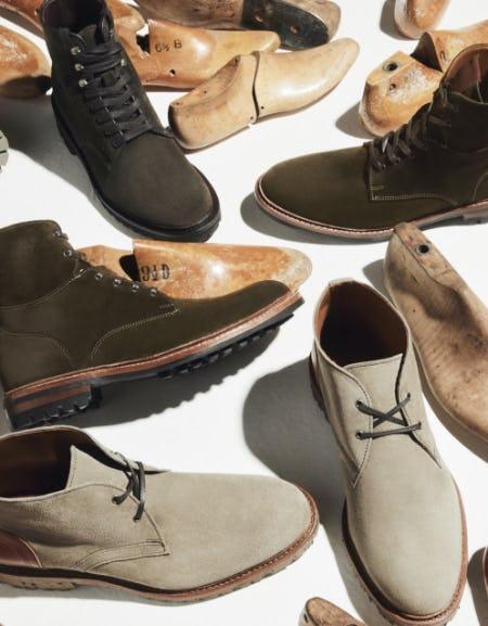 The Latest Green Styles from Allen Edmonds