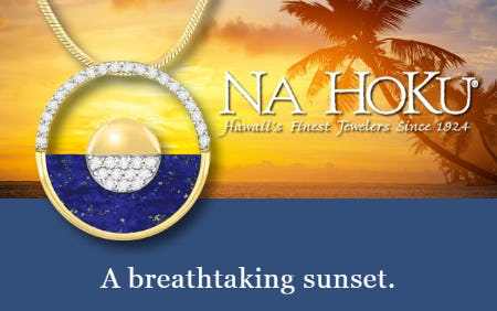 A Breathtaking Sunset from Na Hoku, Hawaii's Finest Jewelers 1924