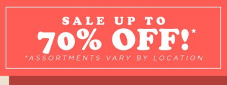 Up to 70% Off Sale from PAPYRUS