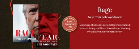 New from Bob Woodward from Books-A-Million
