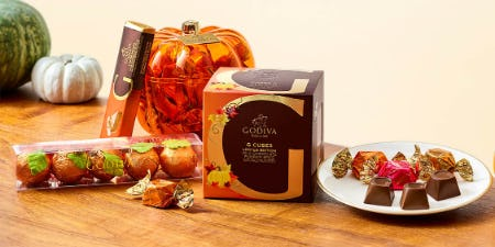 Introducing Fall Flavors at GODIVA! from Godiva Chocolatier