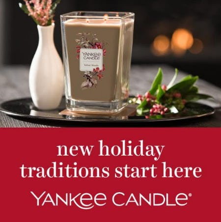 BLACK FRIDAY WEEKEND SALE from Yankee Candle