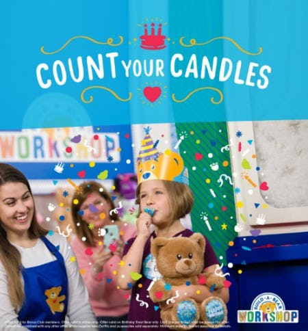 Count Your Candles from Build-A-Bear Workshop