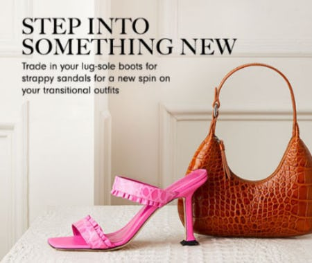 Step Into Something New from Neiman Marcus