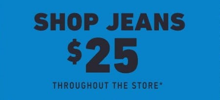 $25 Jeans from Hollister Co.
