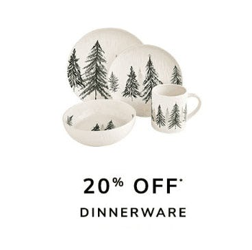 20% Off Dinnerware from Pier 1 Imports