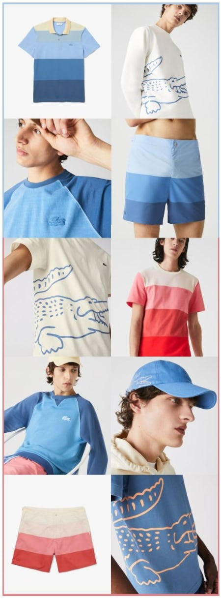 Top Summer Styles from Lacoste
