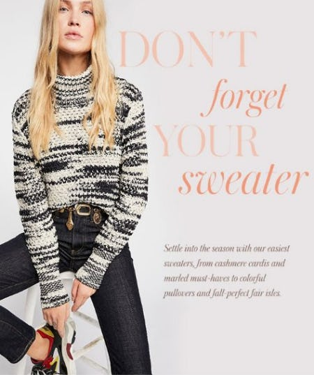 Shop New Sweaters from Free People