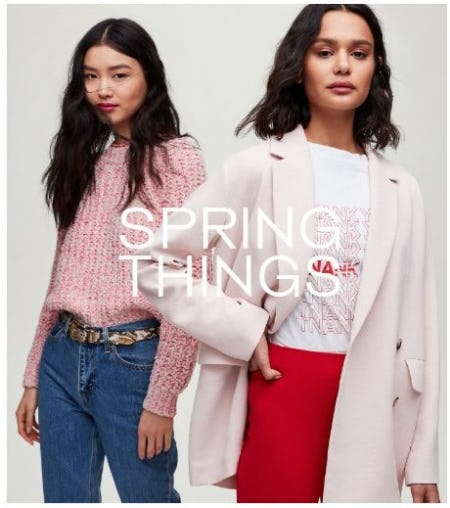 New Spring Things Are Here from Aritzia