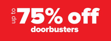 Up to 75% Off Doorbusters from Belk
