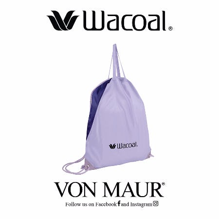 Wacoal Drawstring Bag Gift With Purchase from Von Maur