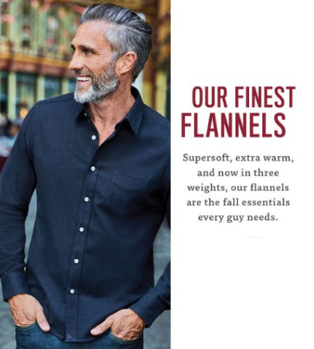 Our Finest Flannels from UNTUCKit