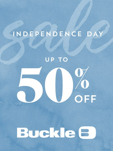 Independence Day Sale at Buckle