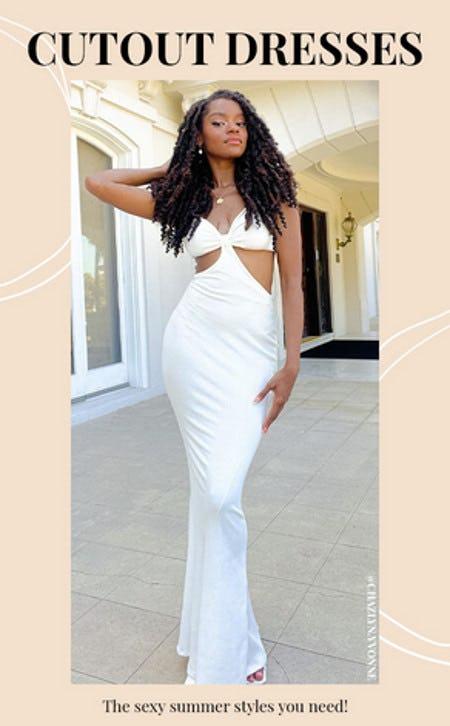 Summer Trend: Cutout Dresses