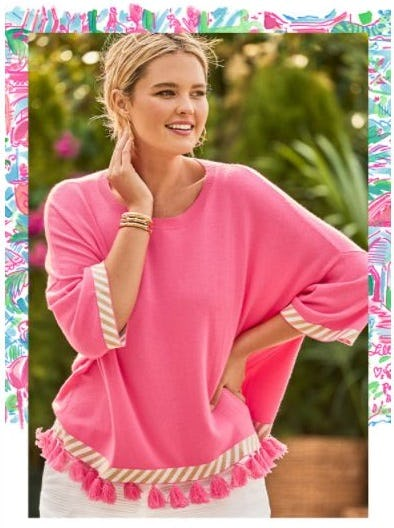 Trending Now: Colorful Standout Sweaters from Lilly Pulitzer