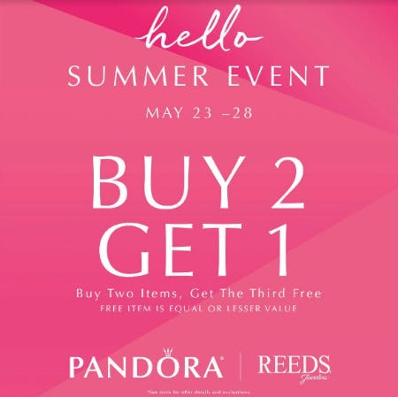 Summer Event from Reeds Jewelers