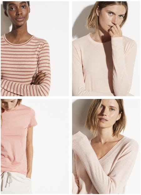 Color Story: Blush Palette from Vince