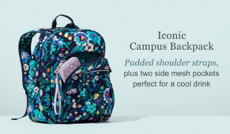 Iconic Campus Backpack from Vera Bradley