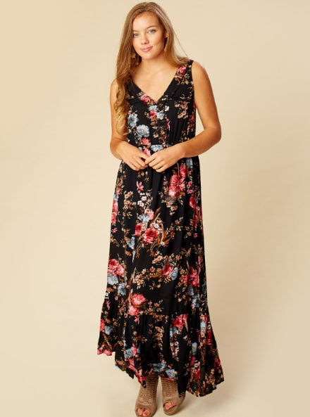 Corrienta Maxi Dress from Altar'd State