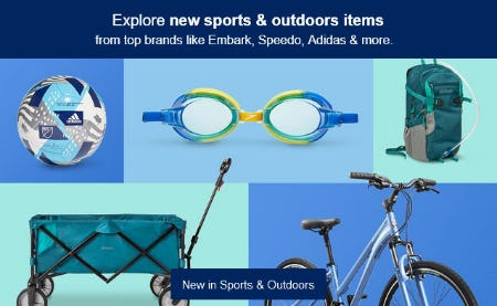 New in Sports & Outdoors from Target