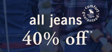 40% Off All Jeans from abercrombie kids