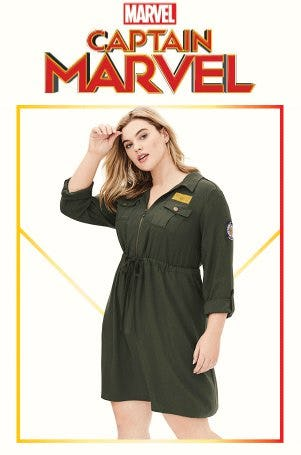 Introducing Captain Marvel from Torrid