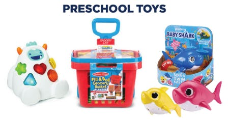 Shop Our Preschool Toys from Books-A-Million