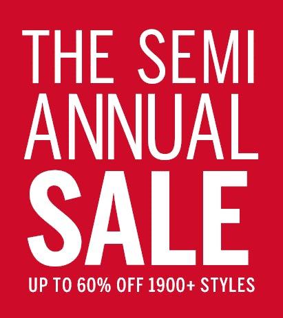 The Semi-Annual Sale from Victoria's Secret