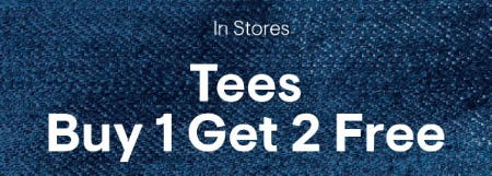 Tees Buy 1 Get 2 Free from Aéropostale