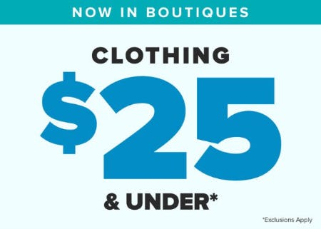 Clothing $25 & Under from francesca's