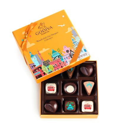 LIMITED EDITION! WONDERFUL CITY DREAMS COLLECTION! from Godiva Chocolatier