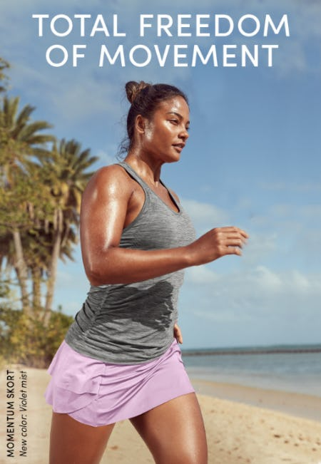 Total Freedom of Movement from Athleta