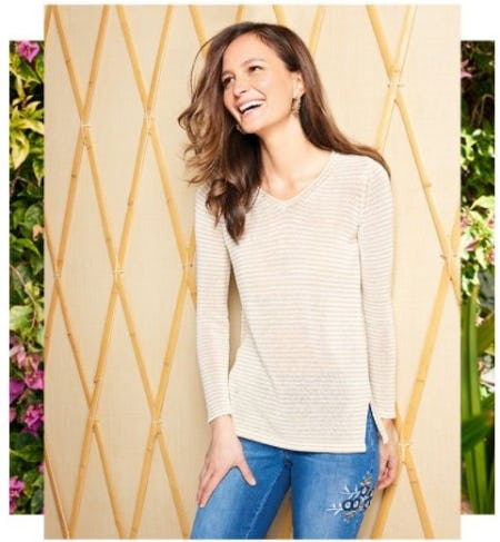 The Perfect Spring Knit from J. Mclaughlin