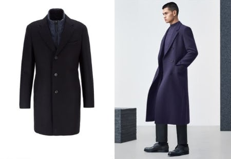 The Must-Have Coats of the Season from Hugo Boss