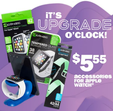 $5.55 Accessories for Apple Watch from Five Below